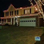 Holiday Lighting on Maryland Home
