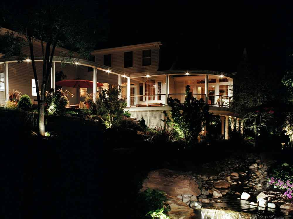 Outdoor Lighting Backyard